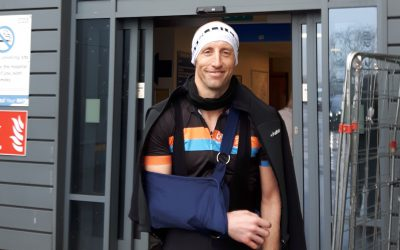 Top tips on dealing with injuries?